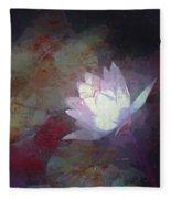 Pond Lily 32 Fleece Blanket
