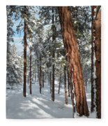 Ponderosa Winter Fleece Blanket