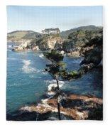 Pont Lobos Cove Fleece Blanket
