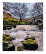 Pont Y Ceunan Bridge Fleece Blanket