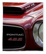 Pontiac 455 Fleece Blanket