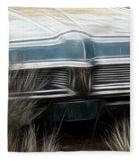 Pontiac Late 60s Fleece Blanket
