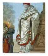 Pontifex Maximus, Illustration Fleece Blanket