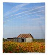 Pontotoc Shed 2am-110573 Fleece Blanket