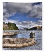 Pontsticill Reservoir 2 Fleece Blanket