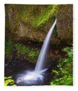 Ponytail Falls - Columbia River Gorge - Oregon Fleece Blanket