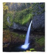 Ponytail Falls Fleece Blanket