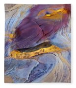 Pools Of Gold II Fleece Blanket