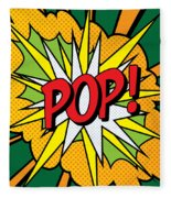 Pop Art 4 Fleece Blanket