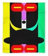 Pop Art People Totem 8 Fleece Blanket