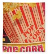 Pop Corn Fleece Blanket