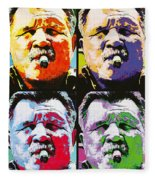 Pop Ditka Fleece Blanket