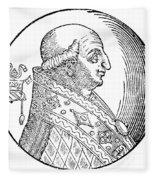 Pope Gregory II (d Fleece Blanket