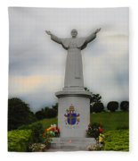 Pope John Paul II Fleece Blanket