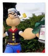 Popeye The Sailor Man Fleece Blanket