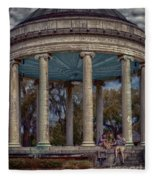 Popps Bandstand In City Park Nola Fleece Blanket