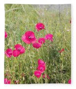 Poppy Blush Fleece Blanket