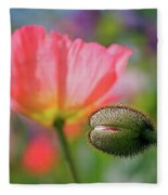 Poppy In Waiting Fleece Blanket