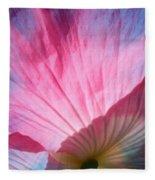 Poppy Rays Collage Fleece Blanket