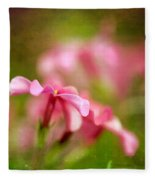 Popsicle Pink Fleece Blanket
