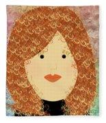 Porcelain Doll 20 Fleece Blanket