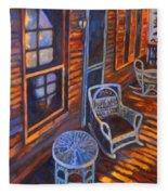 Porch  Fleece Blanket