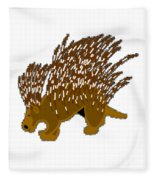 Porcupine Fleece Blanket