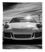 Porsche 911 Gt3 Fleece Blanket
