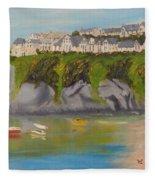 Port Asaac Cornwell Fleece Blanket