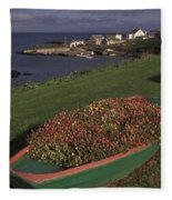 Port Ballintrea Fleece Blanket