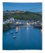 Port Issac Twilight Fleece Blanket