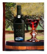 Port Of Calls Fleece Blanket