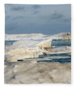Port Washington - South Beach 2  Fleece Blanket