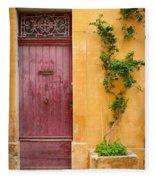 Porte Rouge Fleece Blanket