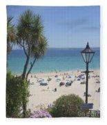 Porthminster Cornwall Fleece Blanket