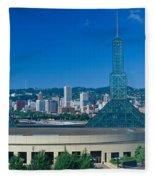 Portland Convention Center, Morning Fleece Blanket