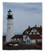 Portland Head Lighthouse 8529 Fleece Blanket