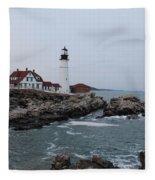 Portland Head Lighthouse 8557 Fleece Blanket