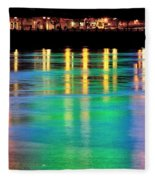 Portland Lights 22971 F Fleece Blanket