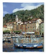 Portofino Fleece Blanket