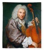 Portrait Of A Cellist Fleece Blanket