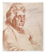 Portrait Of An Old Lady, 1938 Fleece Blanket