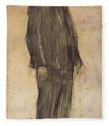 Portrait Of Enric Morera Fleece Blanket
