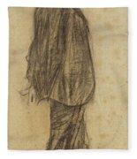 Portrait Of Joan Gay  Fleece Blanket