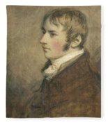 Portrait Of John Constable Aged Twenty Fleece Blanket