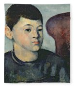 Portrait Of The Artists Son Fleece Blanket