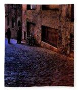 Post Alley - Seattle Fleece Blanket