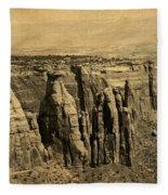 Postcard Fleece Blanket