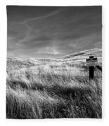Posted Fleece Blanket