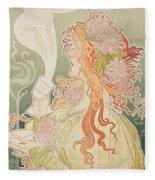 Poster Advertising Caco Van Houten Fleece Blanket